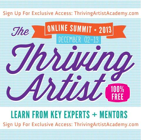Thriving Artist graphic