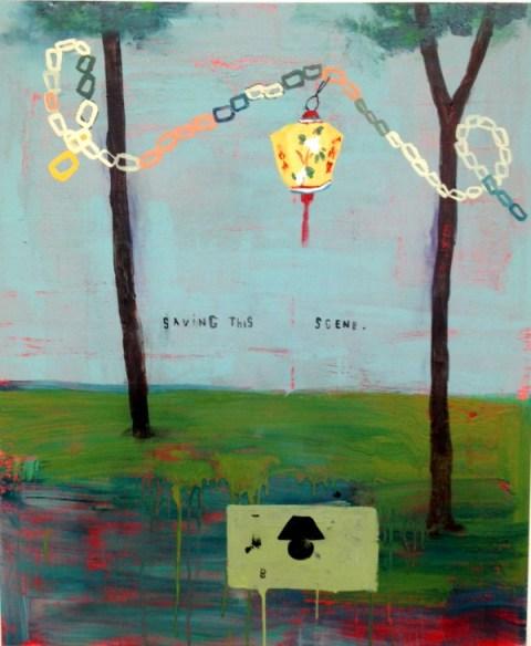 Lantern & Lamp by Stephanie Brody Lederman