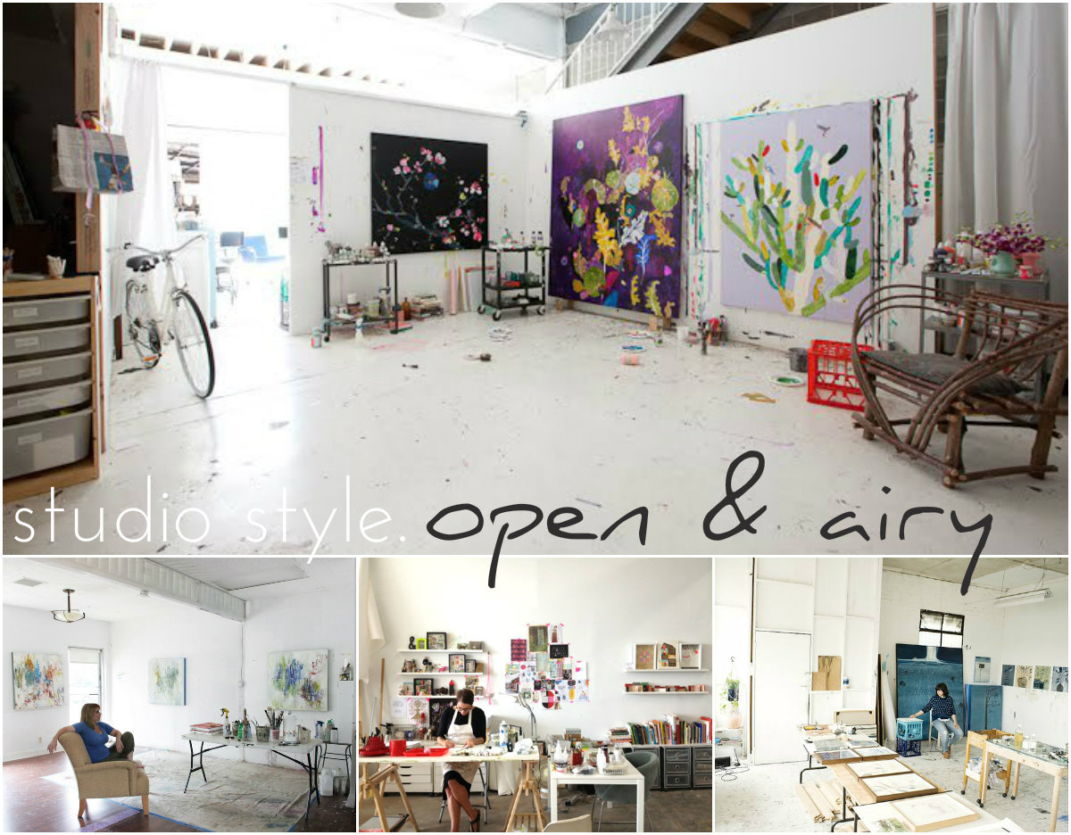 Artsy Dwelling: Your Art Studio Style – artsy forager