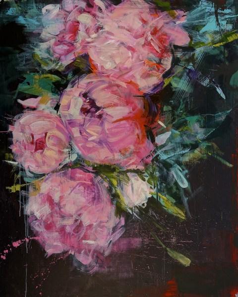 Carmelo Blandino | artsy forager #art #painting #flowers
