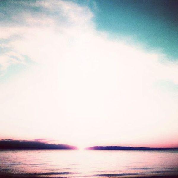 Sunset over Richmond Beach
