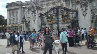 Arrived at Buckingham Palace