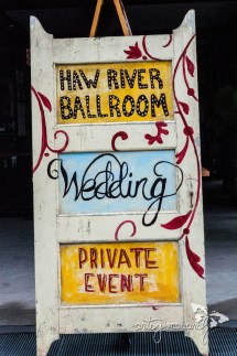 Haw River Ballroom was a gorgeous venue for this wedding!