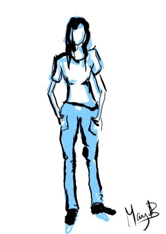 standing sketch 2