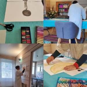 séance d'art-thérapie evolutive® au cabinet de Carignan-de-Bordeaux