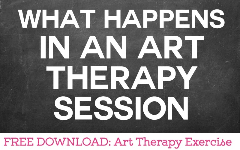 What Happens in an Art Therapy Session