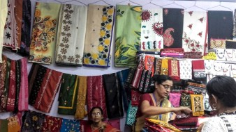 Art Hut stall at West Bengal State Handicraft Expo, 2016