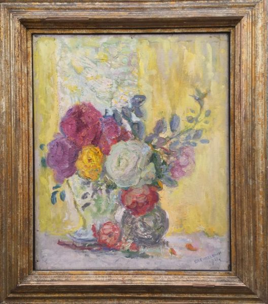 Florence Engelbach 'Still Life of Flowers