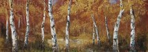 Autumn Birch I