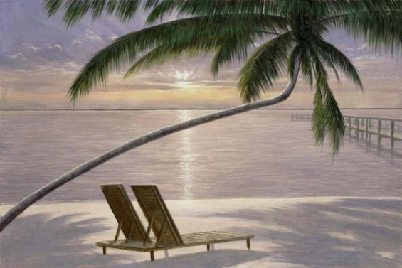 Chaise for Two (Giclee)