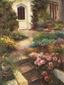 Cottage Entry (Giclee)