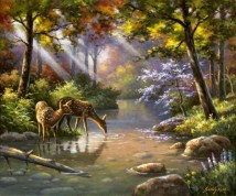 Doe Ray Me Creek (Giclee)
