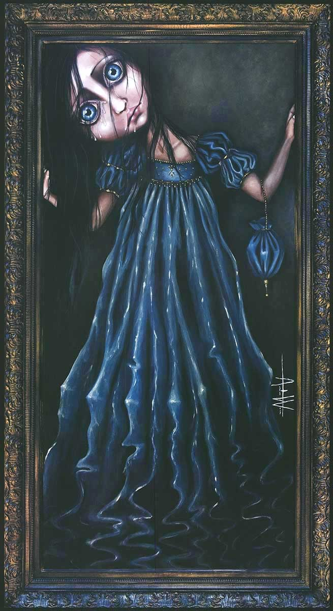 ART PRINT Remembrance Angelina Wrona 18x38