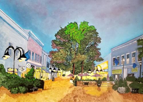 Charlottesville Downtown Mall Landscape