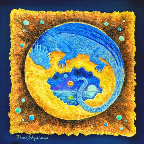 Flame's Blue Dragon hatches into a world with three moons