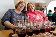 Wine tasting on Santorini