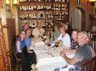 Dinner in Pienza