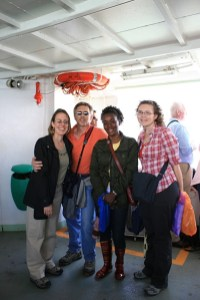 On the ferry to Burano