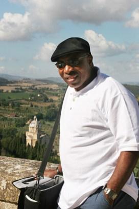 Overlook in Montepulciano