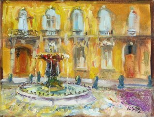 """Aix fountain"""
