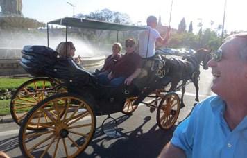Carriage ride around Sevilla