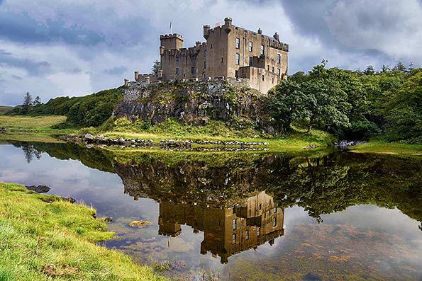 Dunvegan Castle.