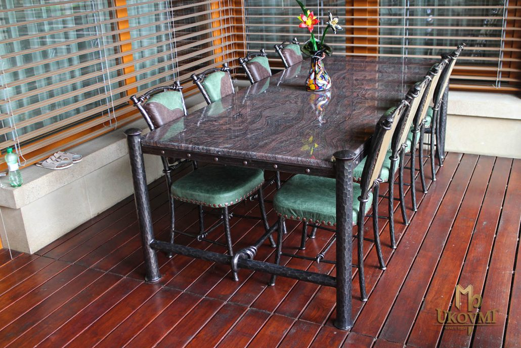 meubles chaises tables en fer forge