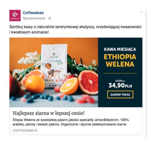 coffedesk facebook  Grafiki reklamowe na Facebooku – wskazówki i wytyczne coffedesk facebook