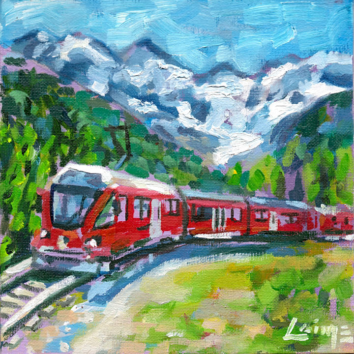 Glacier express by Arturo Laime
