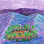 oasis original acylic painting 720