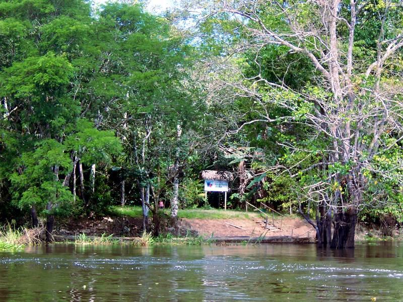 Unsere Jungle Lodge am Yanayacu Fluss