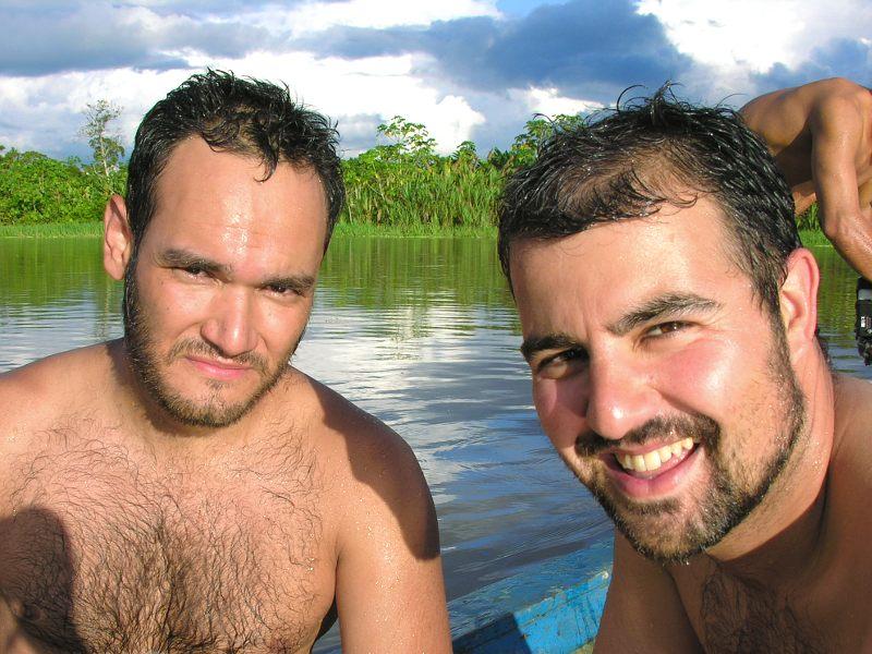 Flussexpedition mit Raul, einer unserer ersten Besucher
