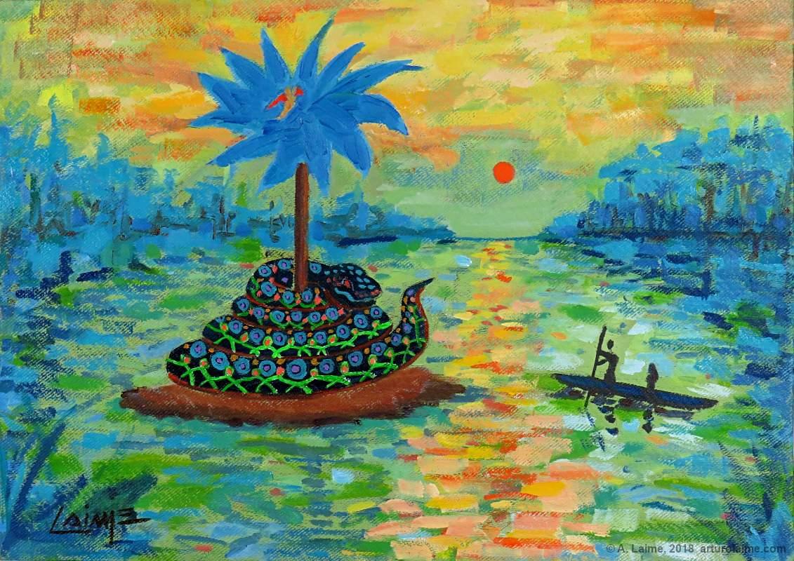 Yacumama Gemälde