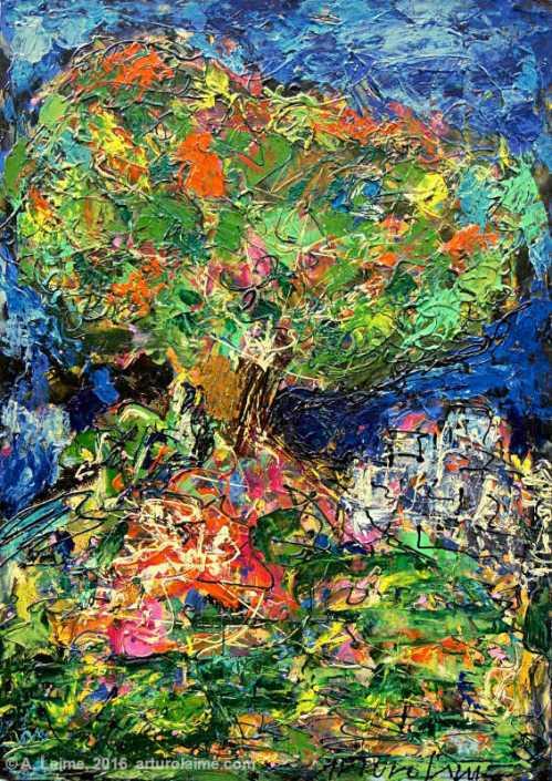 Baum Gemälde