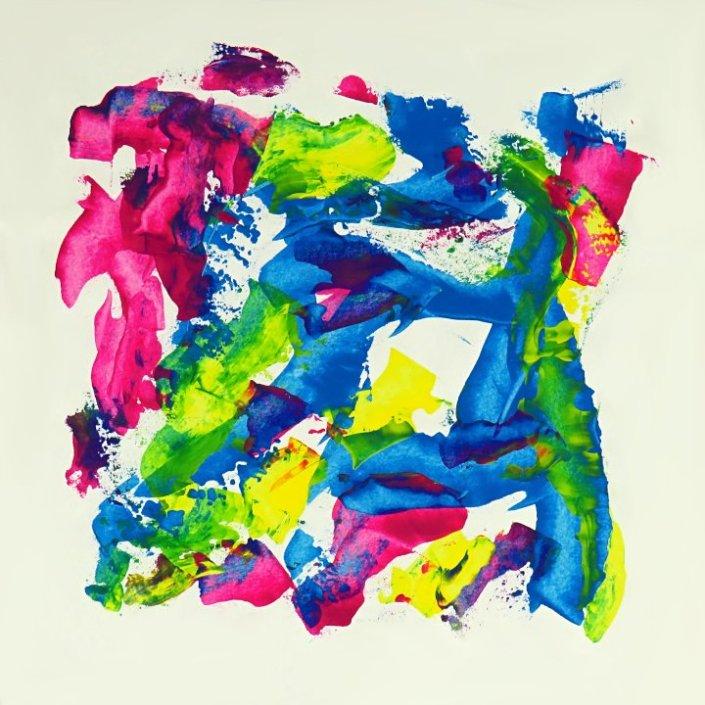 Emanation 2  Kunst auf Papier