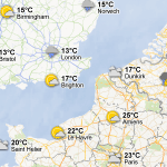 Vea el clima en Google Maps