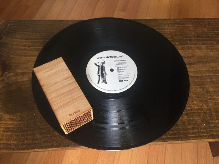 Rokblok tocadiscos de LP