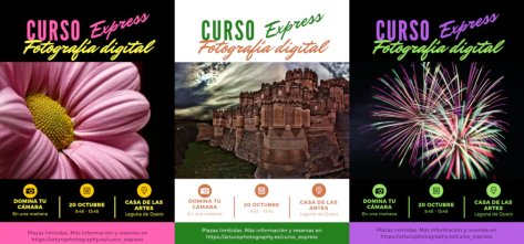 Curso Express fotografía digital