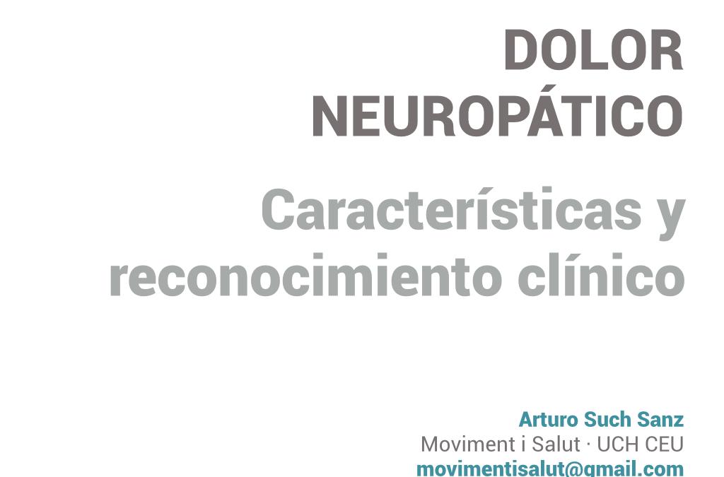Ponencia sobre dolor neuropático