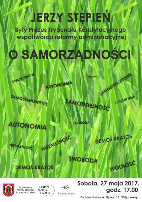 O samorządności e-plakat