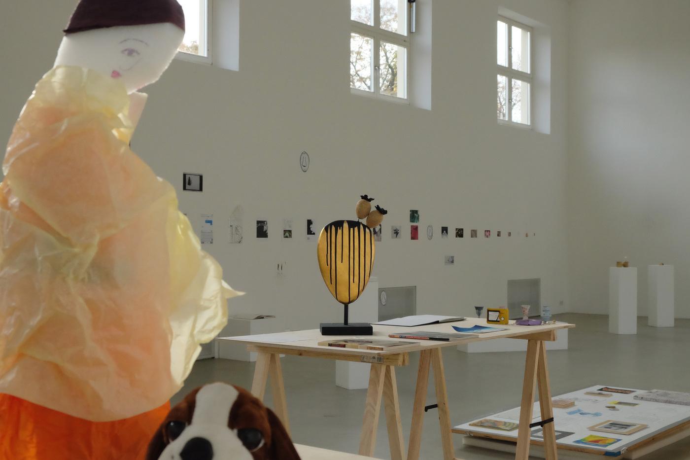 Nopal leaf No. 3 at Darius Mikšys, Hayward & Tamayo Exhibition at Kunstverein, München, 2016.