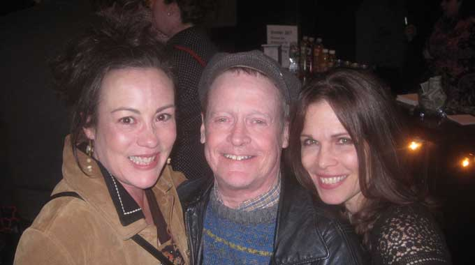 Actors Lisa Vitrano, Gerry Maher, and Josie DiVincenzo.
