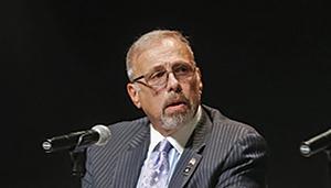 Joe Mascia, long time critic of Mayor Byron Brown