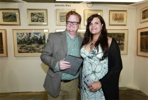 The Benjaman Gallery Baird & Emily Tucker @ Echo Art Fair photo by Cheryl Gorski 1