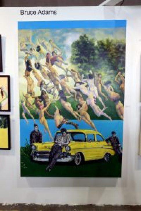 The Benjaman Gallery Gallery @ Echo Art Fair photo by Cheryl Gorski 4