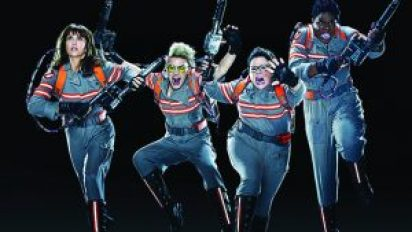 """Kate McKinnon, Melissa McCarthy, Kristen Wiig and Leslie Jones star in the remake of the comedy classic """"Ghostbusters,"""" opening this weekend at a theater near you. It's not very good."""