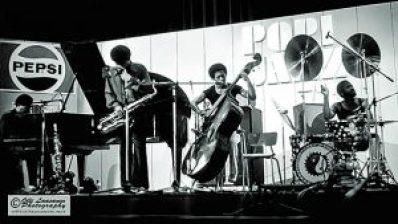 McCoy Tyner Quartet, July 14, 1973 (from left: McCoy Tyner (p), Azar Lawrence (sax), Juini Booth (bass) and Alphonse Mouzon (drums)