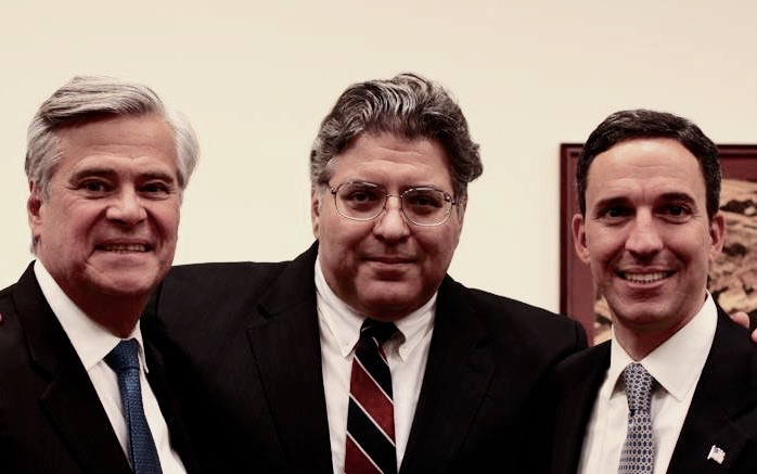 John with former Senate Majority Leader Dean Skelos.