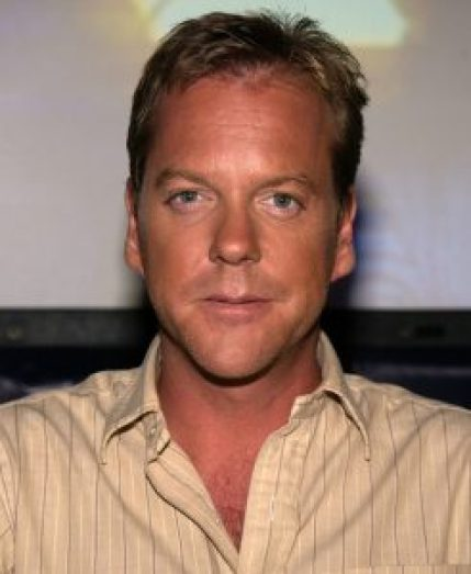 "Kiefer Sutherland during ""24"" Season Two 24-Hour Marathon Screening at ""24"" Soundstages in Woodland Hills, California, United States. (Photo by Jean-Paul Aussenard/WireImage)"