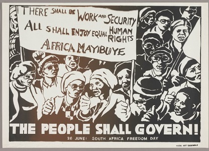 The People Shall Govern! (1982) Courtesy: Art Institute of Chicago/Hyperallergic